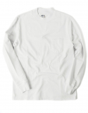 아웃스탠딩(OUTSTANDING) HALF NECK POCKET TEE [WHITE]