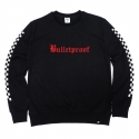 비쿨(BE COOL) Bulletproof Crewneck Black