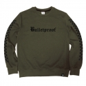 비쿨(BE COOL) Bulletproof Crewneck Khaki
