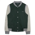 비에이블투(B ABLE TWO) [UNISEX] Standard Baseball Jacket (GREEN)