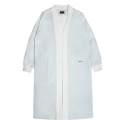 [UNISEX] Oversized Shawl Coat (WHITE)