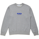 코케트 스튜디오(coquetstudio) UNISEX LOGO WAPPEN SWEAT SHIRT [GRAY]