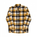 위캔더스(WKNDRS) PLAID COACH JACKET (MUSTARD)