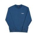 위캔더스(WKNDRS) BASIC WKNDRDS CREWNECK (BLUE)