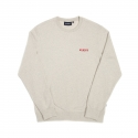 위캔더스(WKNDRS) BASIC WKNDRDS CREWNECK (OATMEAL)