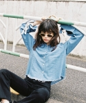 RAINBOW DENIM SHIRT