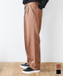 에드() SUPER WIDE SLACKS BROWN