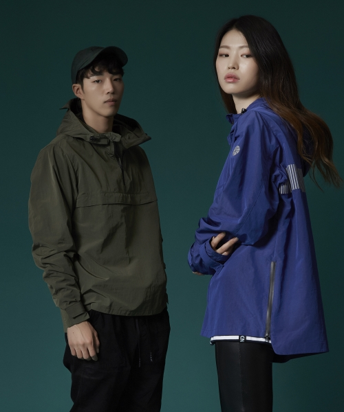 브로큰맨션_(UNISEX) WInd shield anorak