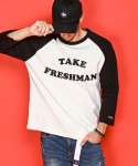 팻밸리(FATBELLY) FATBELLY : Take Patch Raglan Tee 블랙