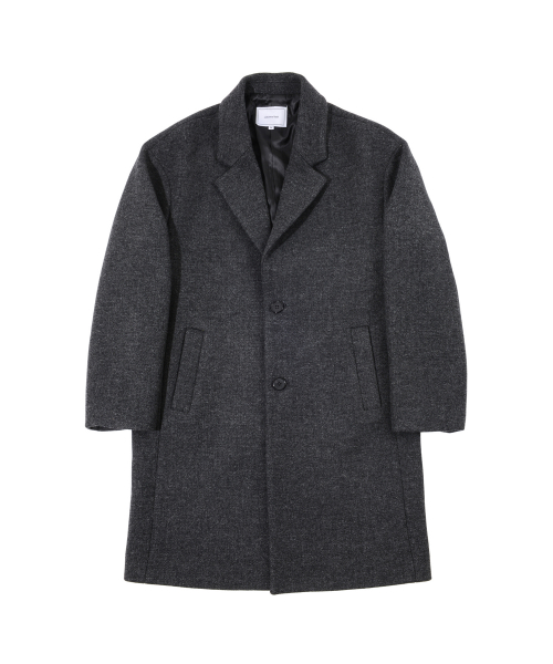 커스텀어클락_SB.OVERSIZED WOOL COAT CHARCOAL