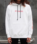 BE POSITIVE HOODY (WHITE)