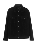 도프제이슨(DOFFJASON) Suede trucker jacket (black)