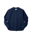 Peavy Neckless Shirts Navy