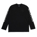 [네버에버] NEVEREVER - NEN LONG SLEEVES (Black)