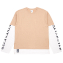 네버에버(NEVEREVER) [네버에버] NEVEREVER - NEV LAYERD LONG SLEEVES (Beige)