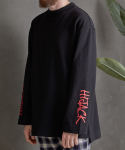 애터27(ATTA27) OVERSIZED HIJACK SWEAT _ BLACK