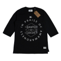 IN PRAISE_FOOTBALL TEE_BLACK