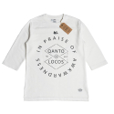 IN PRAISE_FOOTBALL TEE_WHITE