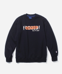 블루야드(BLUE YARD) FAMOUS CREWNECK NAVY