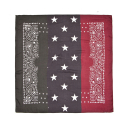 BLACK SCALE RGB BANDANA (MULTI)