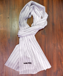 옴펨(HOMFEM) Pattern Scarf_Pin Stripe