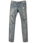 헤비스모커(HEAVYSMOKER) Vintage Washing Denim Pants