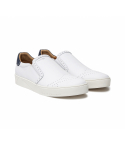 하티스(HA.TISS) PorPored Rebecca White Slip on