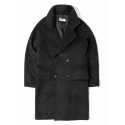 세인트페인(SAINTPAIN) SP TOMMY DOUBLE COAT-BLACK