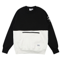 90s CUT crewneck Black
