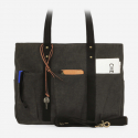 8 Pocket 3 Way Bag_Wax Canvas Charcoal