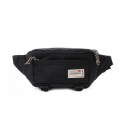 캉골(KANGOL) Tour Waist Bag 9065 BLACK