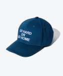 셔터(SHUTTER) SHUTTER GO HARD OR GO HOME EMBO BALLCAP (DEEP BLUE)