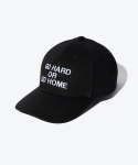 셔터(SHUTTER) SHUTTER GO HARD OR GO HOME EMBO BALLCAP (BLACK)