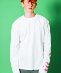 러닝하이(RUNNING HIGH) [UNISEX] UNIVERSAL MIND LONG SLEEVE CUT&SEWN [WHITE]