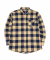 B.SQUARE CHECK SHIRTS BEIGE