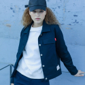 에이비로드(ABROAD) Basic Jacket (navy)