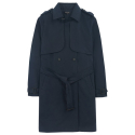 에이비로드(ABROAD) Classic Trench Coat (navy)