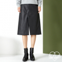 아이아이(EYEYE) H LINE LEATHER SKIRTS_BK (EEOS4SKR69W0C1)