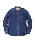 러기드하우스(RUGGED HOUSE) SNAP ROUND DENIM SHIRTS