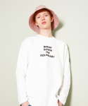 브로큰맨션(BROKENMANSION) High light lettering tee