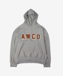 어코(AWCO) COLLEGE HOODIE SPORTS GRAY