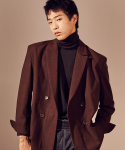 살롱드서울(SALON DE SEOUL) Unisex Signature Jacket (BROWN)