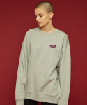슬로우애시드(SLOW ACID) Garage sweatshirt (gray)