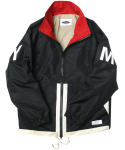 콰이어티스트(QUIETIST) 16 Color-block Sports Jacket (black)