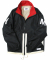 16 Color-block Sports Jacket (black)