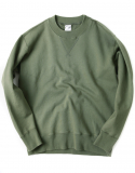 아웃스탠딩(OUTSTANDING) HEAVY SWEAT SHIRTS [KHAKI]