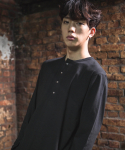 다이르 렌 모드(DAIR LEN MODE) Unbalance button Tee (black)