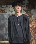다이르 렌 모드(DAIR LEN MODE) Unbalance button Tee (gray)