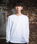 다이르 렌 모드(DAIR LEN MODE) Unbalance button Tee (white)