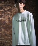 다이르 렌 모드(DAIR LEN MODE) Logo oversize sweat shirt (white)